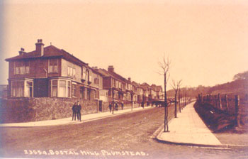 Bostall Hill, Abbey Wood, 1910