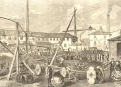 Telegraph Cable Works, Greenwich Peninsula, 1857