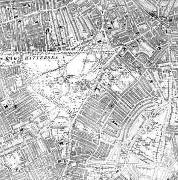 Clapham and Clapham Common, Lambeth, 1920