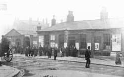 Railway Station in Vincent Road, Woolwich, c. 1900