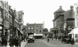 Herne Hill Station, Railton Road, Herne Hill, c. 1921