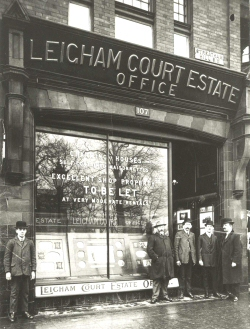 Leigham Court Estate Office, Streatham, c. 1910
