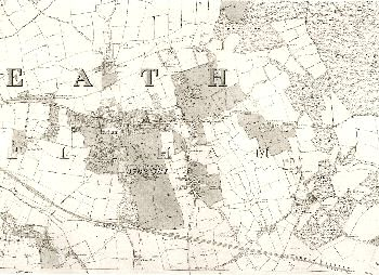 Map of Eltham, 1869