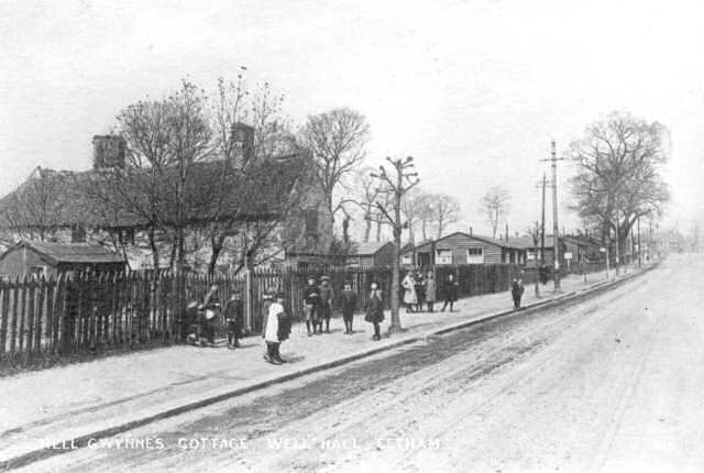 Cottages And Hutments Well Hall Road Eltham C 1920