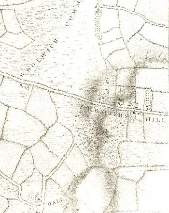 Map of Shooter's Hill, 1746