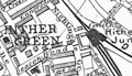 Map of Hither Green, 1904